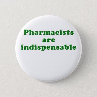 Badge Rond 5 Cm Les pharmaciens sont indispensables