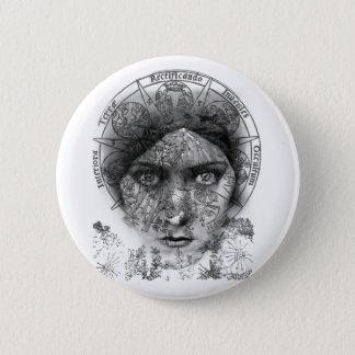 Badge Rond 5 Cm Les yeux de l'alchimie