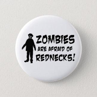 Badge Rond 5 Cm Les zombis ont peur des ploucs