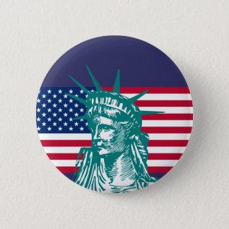 Badge Rond 5 Cm Liberté