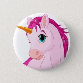 Badge Rond 5 Cm Licorne