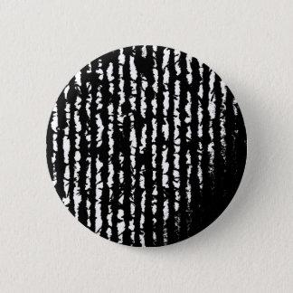 Badge Rond 5 Cm lignes noires