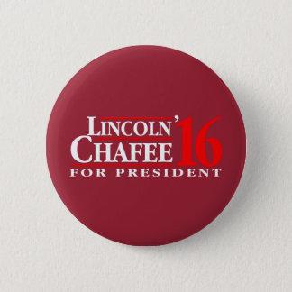 Badge Rond 5 Cm Lincoln Chafee pour le président
