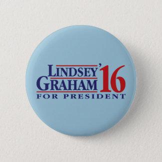 Badge Rond 5 Cm Lindsey Graham pour le président