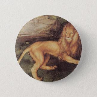 Badge Rond 5 Cm Lion par Albrecht Durer