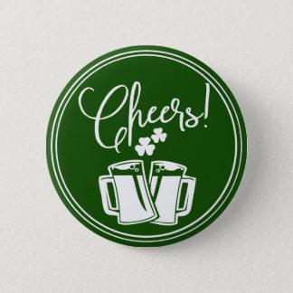 Badge Rond 5 Cm L'Irlandais encourage la célébration de bière de