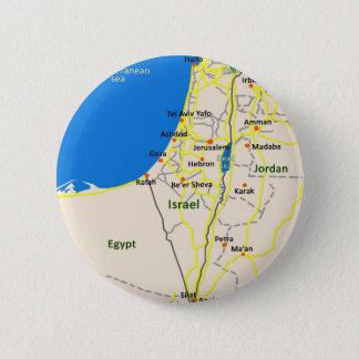 Badge Rond 5 Cm L'Israël map.JPG