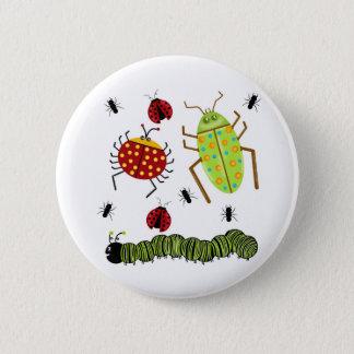 Badge Rond 5 Cm Littlebeane branche la fourmi sur table d'écoute