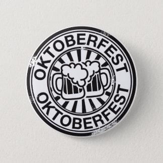 Badge Rond 5 Cm Logo de bière d'Oktoberfest