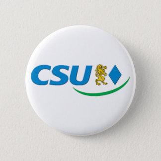 Badge Rond 5 Cm Logo de CSU