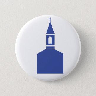 Badge Rond 5 Cm Logo d'église