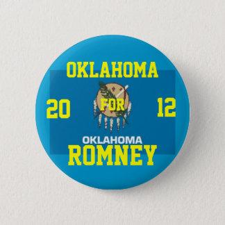 Badge Rond 5 Cm L'Oklahoma pour Romney 2012