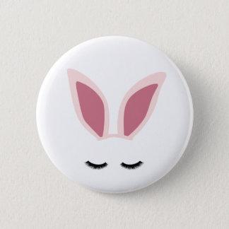 Badge Rond 5 Cm L'oreille de lapin fouette le Pin