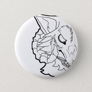 Badge Rond 5 Cm Loup de démon