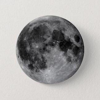 Badge Rond 5 Cm Lune
