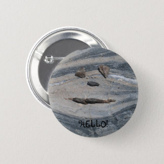 Badge Rond 5 Cm M. Boudin Says Hello