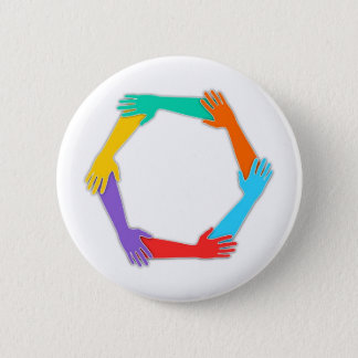 Badge Rond 5 Cm Mains jointives
