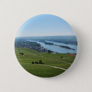 Badge Rond 5 Cm Maison crue au Rhin