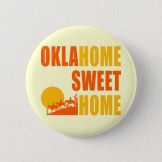 Badge Rond 5 Cm Maison de bonbon à Oklahome
