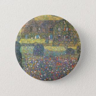 Badge Rond 5 Cm Maison de campagne par le cool d'Attersee