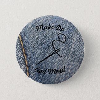 Badge Rond 5 Cm Make font et réparent l'insigne