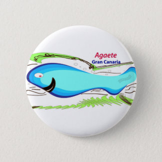 Badge Rond 5 Cm Mamie Canaria d'Agaete