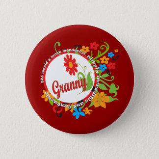 Badge Rond 5 Cm Mamie fantastique
