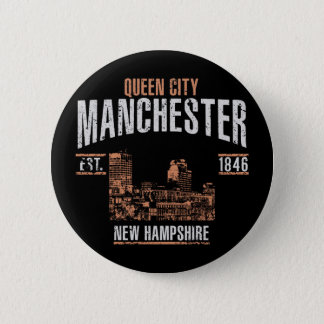 Badge Rond 5 Cm Manchester