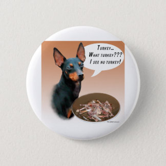 Badge Rond 5 Cm Manchester Terrier Turquie