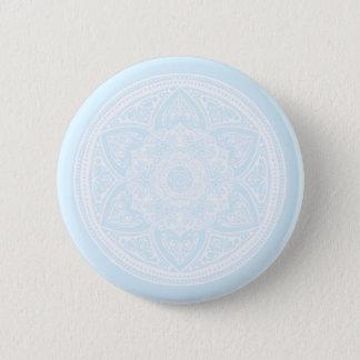 Badge Rond 5 Cm Mandala arctique
