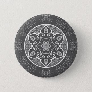 Badge Rond 5 Cm Mandala de lamantin