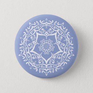 Badge Rond 5 Cm Mandala de myrtille