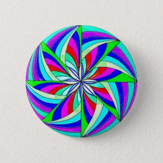 Badge Rond 5 Cm Mandala magique
