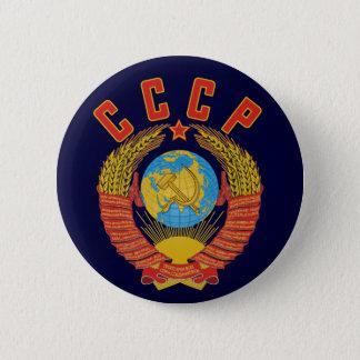 Badge Rond 5 Cm Manteau soviétique de bouton des bras CCCP
