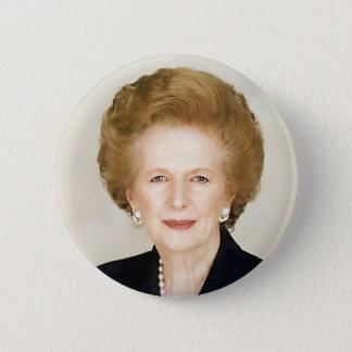Badge Rond 5 Cm Margaret Thatcher