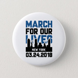 Badge Rond 5 Cm Mars pendant nos vies New York