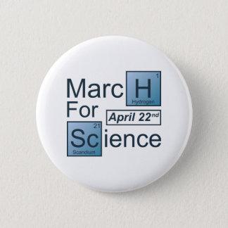 Badge Rond 5 Cm Mars pour la Science