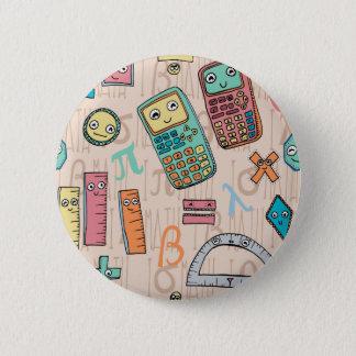 Badge Rond 5 Cm Maths heureuses