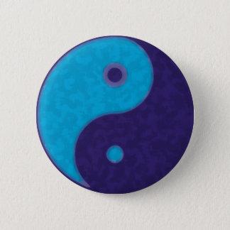 Badge Rond 5 Cm méditation tao de zen de yang de yin