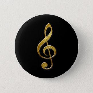 Badge Rond 5 Cm melomane