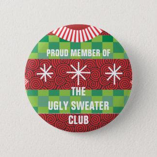 Badge Rond 5 Cm Membre du bouton laid de club de chandail