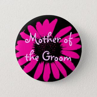 Badge Rond 5 Cm Mère du marié