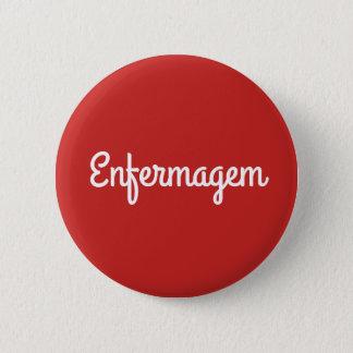Badge Rond 5 Cm Métier d'infirmier
