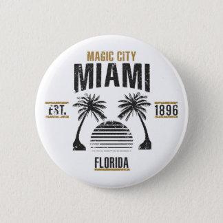 Badge Rond 5 Cm Miami