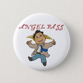 Badge Rond 5 Cm Mini ange de Castiel
