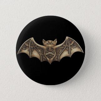 Badge Rond 5 Cm Mishkya le bouton de batte