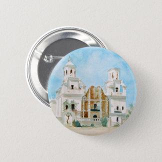 Badge Rond 5 Cm Mission San Xavier del Bac