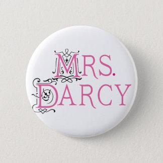 Badge Rond 5 Cm Mme Darcy Gift de Jane Austen