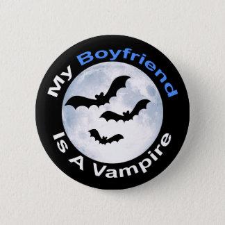 Badge Rond 5 Cm Mon ami est un bouton de vampire