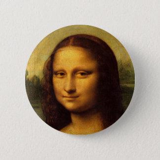 Badge Rond 5 Cm Mona Lisa